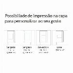 Imagem adicional do produto BLOCO DE NOTAS A5 PERSONALIZAVEL, COM CAPA EM CARTÃO E BOLSA