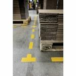 Imagem adicional do produto SIMBOLO ADESIVO DURABLE PVC FORMA DE L PARA DELIMITACAO DE CHAO AMARELO 100X100X0,7 MM PACK DE 10 UNIDADES REF DURABLE 1702-04