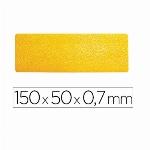 Imagem do produto SÍMBOLO ADESIVO DURABLE PVC FORMA DE LINHA PARA DELIMITAÇÃO DE CHÃO AMARELO 150X50X0,7 MM PACK DE 10 UNIDADES REF DURABLE 1703-04