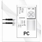 """Imagem adicional do produto AUSCULTADORES NGS HEADSET MSX 6 PRO C/MICRO COM 2 JACK 3,5"""" PARA MICRO E SOM"""