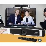 Imagem adicional do produto CAMARA DE VIDEO CONFERÊNCIA AVER WEB CAM VIDEO BAR 4K - VB130 COM SOM E MICRO